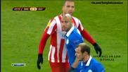 Днипро 2 - 0 Олимпиакос ( 19/02/2015 ) ( лига европа )