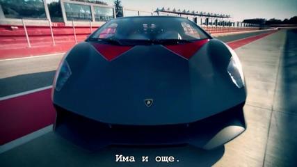 Top Gear - Lamborghini Aventador Roadster и Lamborghini Sesto Elemento
