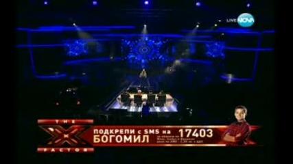 """Уникaлно изпълнение на Боги """" X Factor """" Финала"""
