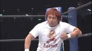Джеф Харди Срещу Найто Тетсу- Wrestle Kingdom 5 (2011)