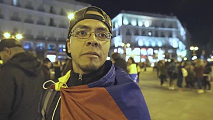 Spain: Venezuelans take the street to demand Madrid recognises Guaido