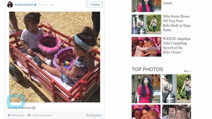 These Photos of North West at an Easter Egg Hunt Will Make You Squee