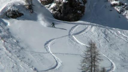 Ски и сноуборд - Екстремни спускания част 1