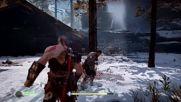 God of War PS4 PRO Странникът БОС Битка