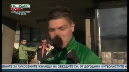 Чавдар - Берое 0 - 1 28.04.2010 ( Иво Иванов след мача )