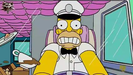 Семейство Симпсън С18 Е07 - Хоумър става сладоледаджия, Мардж е скулптор бг аудио
