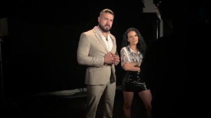 Apollo Crews confronts Andrade & Zelina Vega: WWE.com Exclusive, June 26, 2019