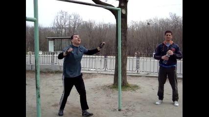 Кросфит тренировка 27 март 2011 Богоров