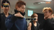 Lay's Wolf Dance vs Kai's Beauty Dance @ 130612 Exo - Interview of Show Champion