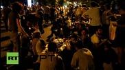 Хиляди протестират против новите цени на тока пред президентския дворец