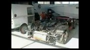 Citroen 2cv баничарка с двигател на Ferrari ,сцепи мрака!