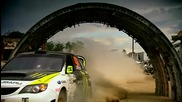 Ken Block with Gymkhana Subaru in Top Gear [ Hq ]