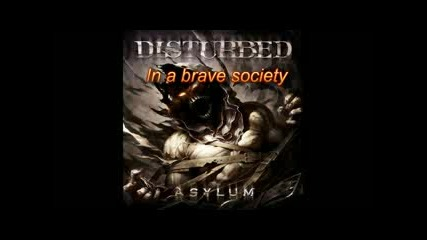 Disturbed - Never Again (текст + Превод)