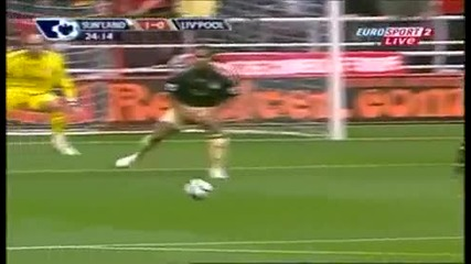 Sunderland Vs Liverpool gol s balon