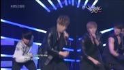 *hq* Super Junior - Boom Boom + Bonamana @ Music Bank [14.05.10]