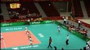 ВИДЕО от успеха на родните волейболисти над Мексико
