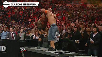 John Cena vs Batista – WWE Over the Limit 2010 (Lucha Completa)