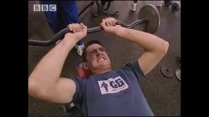 Louis Theroux body - building Bbc