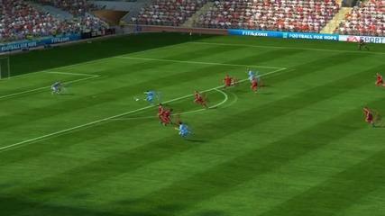 Fifa 11 | Епизод 14 | Компилация | Четири прекрасни гола