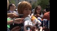Фандъкова за бутането на паметника пред НДК