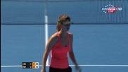 Цветана Пиронкова - Доминика Цибулкова ( Australian Open 2015 )