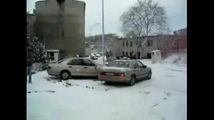коли върху лед