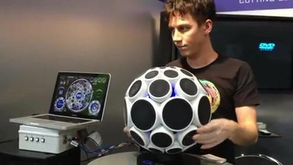 Музикална - дъбстеп ( Dubstep ) топка
