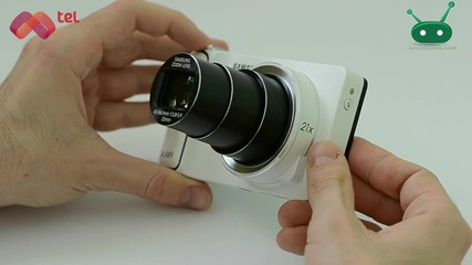Samsung Galaxy Camera - един умен фотоапарат