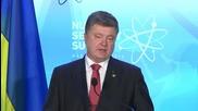 USA: Poroshenko slams 'dangerous' timing of Dutch referendum on EU-Ukraine deal