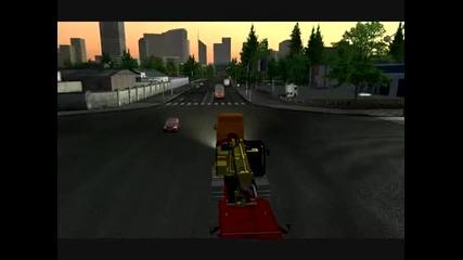 Euro Truck Simulator London-brussels [e.t.s]+mod