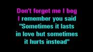 Adele - Someone like you - karaoke instrumental
