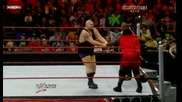 Raw 90709 Mark Henry vs Big Show ( Body Slam match) Vbox7