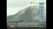 Вулканът Синабунг направи най - силното си изригване