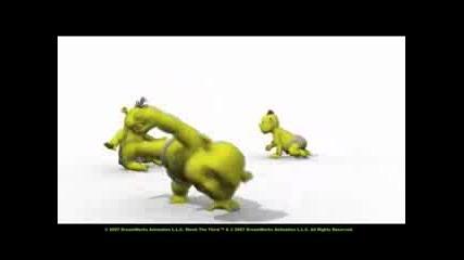 Танцуващи Сладки Бебенца От Шрек