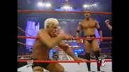 The Rock Vs Rick Flair