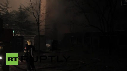 Netherlands: Church lost in midnight blaze-battle on last day of Easter