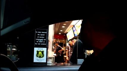 Как да поръчаме в Mcdonalds ? - Like a boss! Смях.