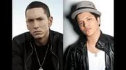 Текст + Превод New * Eminem ft. Bruno Mars - Lighters