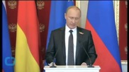 Putin: Peace Process In Eastern Ukraine Was Progressing Despite Difficulties