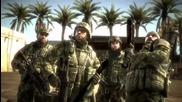 Battlefield Bad Company - Snake Eyes (funny trailer) Голям Смях Hd