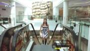 Кардио репортаж - Ванеса от Музинки май обърка ескалатора