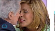 Regis Philbin Plants a Giant Kiss on Hoda Kotb's Lips Before Asking If She Has a Boyfriend