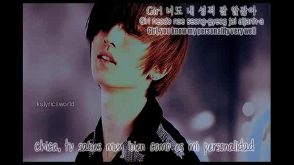 U-kiss - Baby don t cry w Span.eng.subs Romanization Hangeul