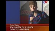 Интервю с Джъстин за Entrevista Antes Del Show!!