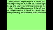 02. Rihanna - Push Up On Me(lyrics)