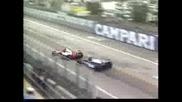 1990 GP of USA at Phoenix Senna Alesi batt