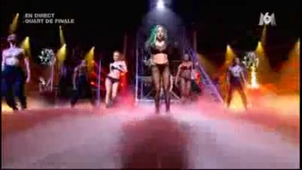 Lady Gaga - The Edge of Glory & Judas [live] X Factor France Hd