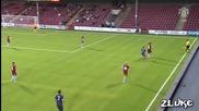 Първият гол на Ник Пауъл за Манчестър Юнайтед