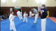 Тренировка в Класа-таекуондо клуб