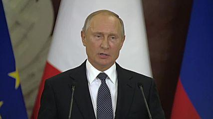 Русия: Путин предупреждава европейските нации да не приютяват американските ракети